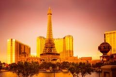 Golden Vegas Stock Image