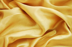 Golden Velvet Texture Royalty Free Stock Photography