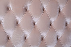 Golden velvet upholstery Royalty Free Stock Photos