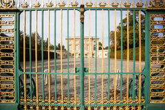 Golden Versailles Gates Royalty Free Stock Photography