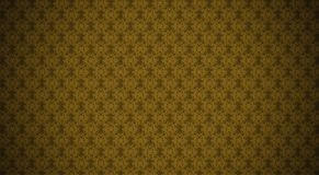 Golden victorian vintage background Royalty Free Stock Photo