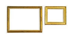 Golden vintage frame Royalty Free Stock Photography