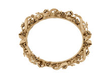 Free Golden Vintage Frame. Isolate Mirror. Design Retro Element.  Physical Realistic Reflection . Stock Image - 68414101