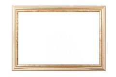 Golden vintage picture frame Stock Photo