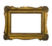 Golden vintage picture frameGolden vintage picture Royalty Free Stock Photography