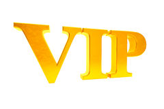 Golden VIP abbreviation Stock Photography