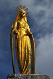 Golden Virgin Stock Photography