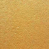 Golden wall background texture Royalty Free Stock Photography