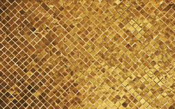 Golden wall Royalty Free Stock Images