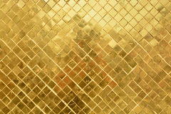 Golden wall in Grand Palace Royalty Free Stock Images