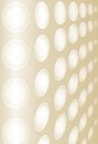 Golden wallpaper Royalty Free Stock Images