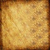 Golden wallpaper Stock Image