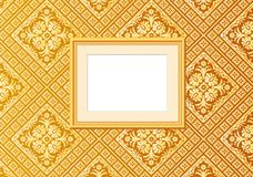 Golden wallpaper picture Royalty Free Stock Images