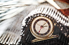 Golden watch Royalty Free Stock Photos