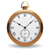 Golden watch Royalty Free Stock Images