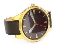 Golden watch Royalty Free Stock Photos