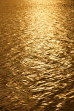 Golden water Background Stock Images
