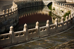Golden Water River Forbidden City Royalty Free Stock Photos