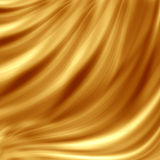 Golden wave design Stock Images