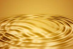 Golden waves Stock Photo