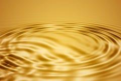 Golden waves Stock Photo