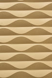 Golden Waves Abstract Vertical Background Stock Photos