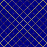 Golden weaving seamless pattern Stock Photo