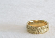 Golden Wedding Ring Stock Images