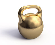 Golden weight Stock Images