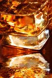 Golden Whiskey Royalty Free Stock Photos