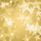 Golden and white stars Royalty Free Stock Images