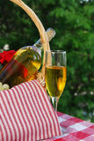 Golden wine Royalty Free Stock Images