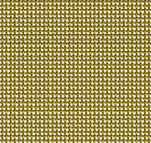 Golden wire mesh seamless pattern Stock Photo