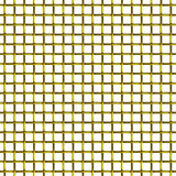 Golden wire mesh seamless pattern Royalty Free Stock Photo