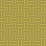 Golden woven background texture seamless tilable. Seamless tillable background texture with woven stripes vector illustration