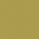 Golden woven background texture seamless tilable. Seamless tillable background texture with woven stripes Royalty Free Stock Photography