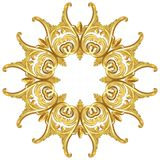 Golden wreath Royalty Free Stock Photography
