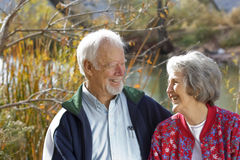 The Golden Years Together Stock Image