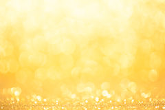 Golden and yellow circle background Royalty Free Stock Photography