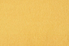 The Golden yellow crepe paper close up. Macro Royalty Free Stock Images