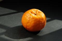 Golden yellow mandarin lemon. Look sweet! stock image