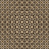 Golden yellow pattern on dark background. Graphic pattern with curls, fine lines, abstract colors in traditional tile style. Seamless pattern Royalty Free Stock Photos