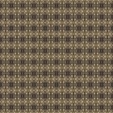 Golden yellow pattern on dark background. Graphic pattern with curls, fine lines, abstract colors in traditional tile style. Seamless pattern Royalty Free Stock Images