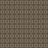 Golden yellow pattern on dark background. Graphic pattern with curls, fine lines, abstract colors in traditional tile style. Seamless pattern Royalty Free Stock Photo