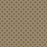 Golden yellow pattern on dark background. Graphic pattern with curls, fine lines, abstract colors in traditional tile style. Seamless pattern Stock Images