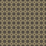 Golden yellow pattern on dark background. Graphic pattern with curls, fine lines, abstract colors in traditional tile style. Seamless pattern Stock Image