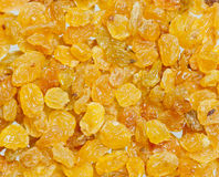 Golden Yellow Raisins Stock Photos
