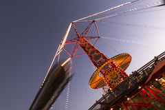 Golden zephyr (amusement ride) Stock Image