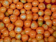 goldenberries堆在市场上 库存图片