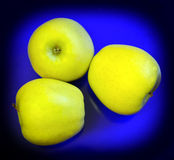 Goldene Äpfel Lizenzfreies Stockfoto